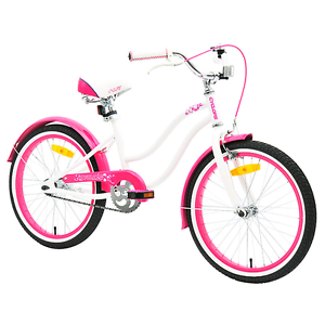 White/pink 50cm girl's cruiser bike New in box Canning Vale Canning Area Preview