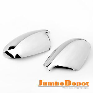 New For 04-2006 PEUGEOT 307 407 307CC 307SW Chrome Side Rear View Mirror Cover