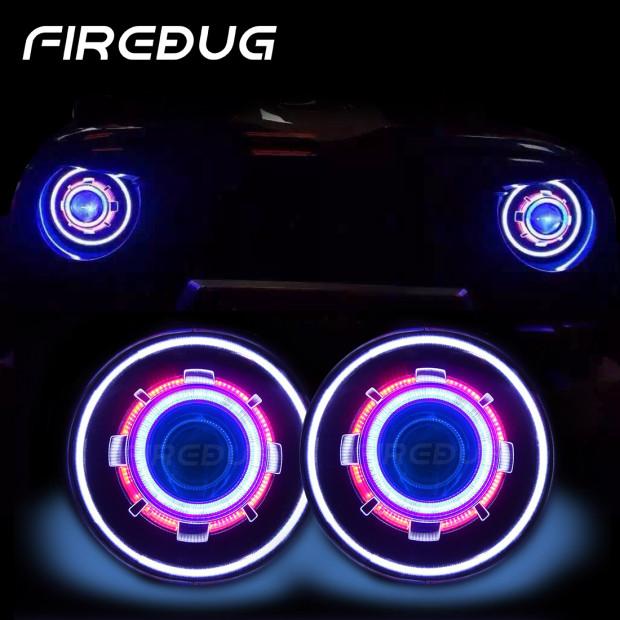 Firebug Jeep 7 Quot Hid Projector Headlights Demon Eye