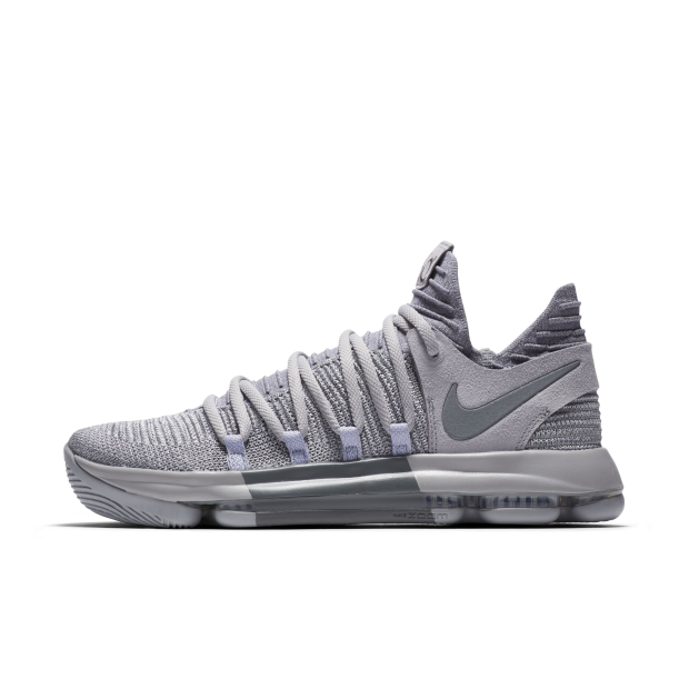 on sale 72473 267de Details about Nike Men Zoom KD10 X EP Basketball Shoes Kevin Durant Grey  897816-007 US7-11 04'