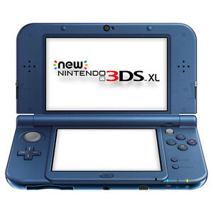 NEW NEW Nintendo 3DS XL Console - Blue New control stick and shoulder buttons