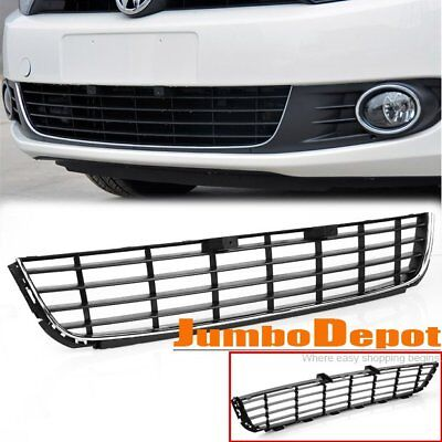 US Front Bumper Center Lower Grille Fit 2011-2014 VW Golf / Jetta Sportwagen MK6