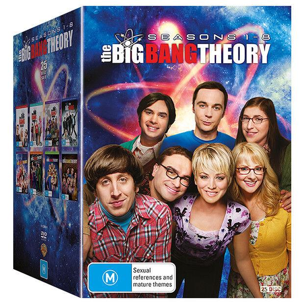 THE BIG BANG THEORY Seasons 1 - 8 : NEW DVD