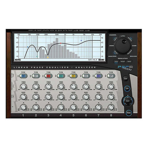 PSP Audioware Neon HR, linear phase equalizer software download