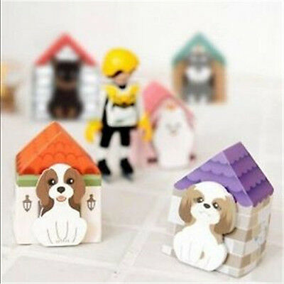 Fd927 Funny Puppy House Dog Sticker Bookmark Mark Memo Sticky Note1pc A