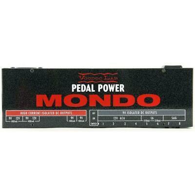 NEW! Voodoo Lab PEDAL POWER MONDO - 9 Volt Supply - 12