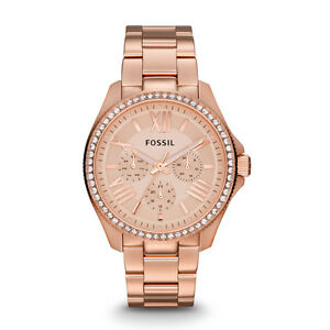 FOSSIL Women's Cecile Multifunction Stainless Steel Rose Watch