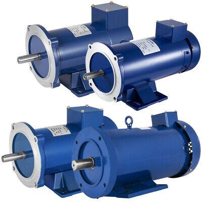 Dc Motor 1 Hp 56c Frame 1224v 1750rpm Tefc Magnet Versatility Durable 1750 Rpm
