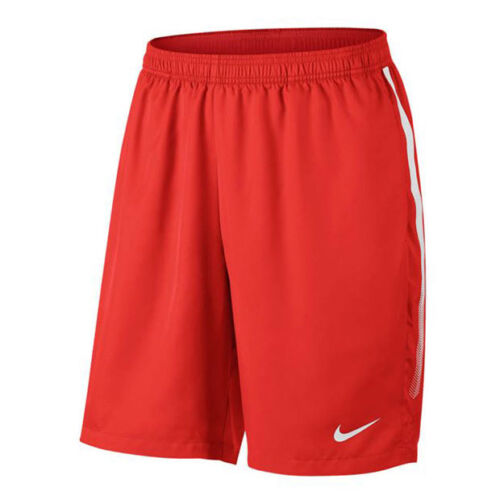 NIKE Men`s Court Dry 9 Inch Tennis Short Red White XSmall 830821-634