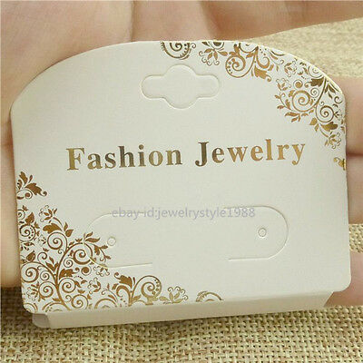 1508050x Bracelet Earring Jewelry Display Packaging Hanging Card Paper Necklace