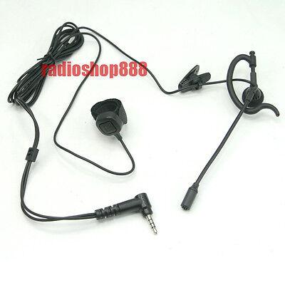E14Y Ear Headset with Finger PTT for YAESU VX-250  FT-60R VX-2R