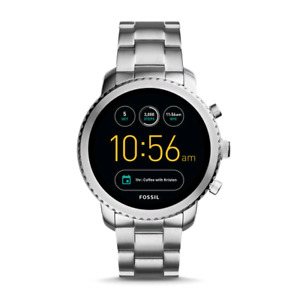 Fossil Smartwatch Q Explorist Gen 3 Stainless Steel w/extra Band