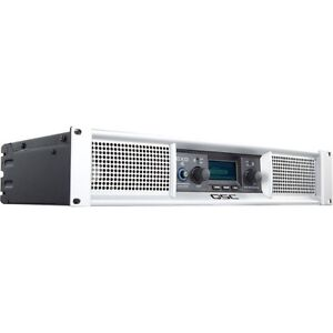 QSC GXD4 2 Channel Amplifier with DSP -400 Watts/8 Ohms