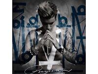 1 Justin Bieber Ticket, 2nd November, 3ARENA Dublin, STANDING