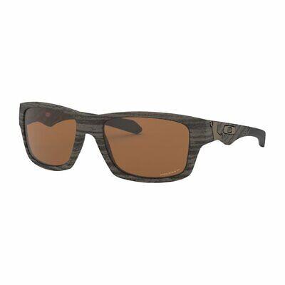 Oakley Golf Jupiter Squared Polarized Woodgrain Frame/Prizm Lens Sunglasses New
