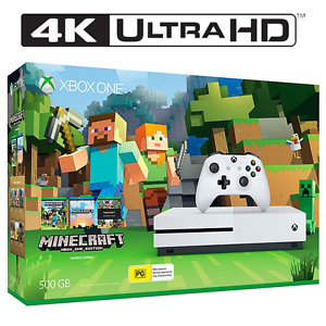 Xbox One S 500GB MineCraft+Halo 5 Guardian+MasterChief Collection Westmead Parramatta Area Preview