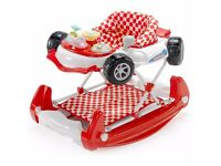 Baby walker racing car with sounds and lights