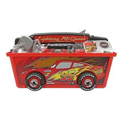 Disney Cars Toy Box (Disney Store Cars Lightning McQueen Quick Fix Tool Box Toy Playset )
