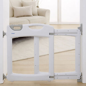 Mountable clear baby gate