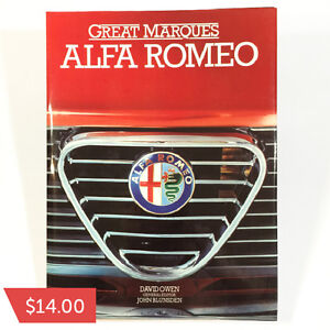 Great Marques Alfa Romeo by David Owen  $14