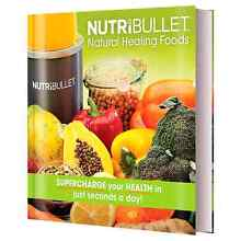 FOR SALE Nutribullet Natural Healing Foods Cookbook Brand New Kelso Townsville Surrounds Preview