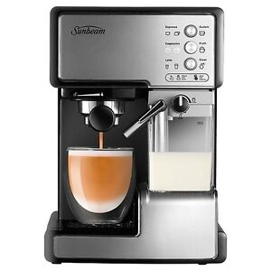 SUNBEAM CAFE BARISTA MANUAL COFFEE MACHINE-EM5000 Cheltenham Kingston Area Preview