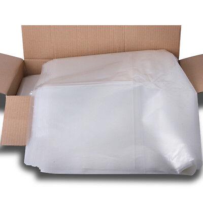 25 x Clear Wheelie Bin Liners Strong Heavy Duty Rubbish Sack Big Refuse Bin Bags