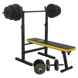 Everlast weights bench - almost brand new.