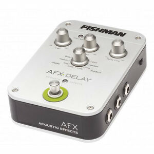 Fishman AFX Delay Acoustic Effects Pedal B-STOCK + Power Adapter