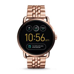 dd665a8b30b1 Fossil Q Wander Gen 2 Touchscreen Rose Gold FTW2112 Smartwatch for ...