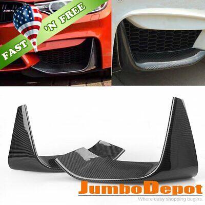 US Carbon Fiber Front Bumper Splitter Spoiler Lip Fit BMW F80 M3 / F82 M4 15-18