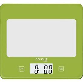 ColourMatch Square Digital Kitchen Scale - Poppy
