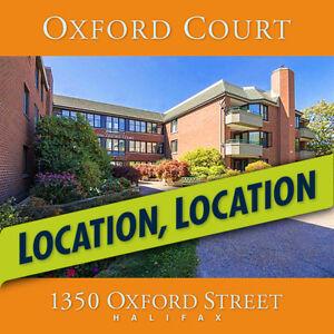 Spacious & Quiet 2 bedroom Condo, South End, Halifax, Oxford St.