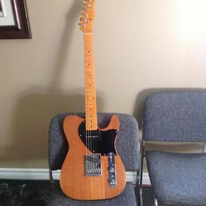 Custom Rosser spanish cedar telecaster AAAA flame maple neck