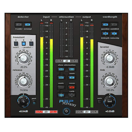 PSP Xenon, dual-stage limiter software download plug