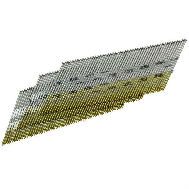 """SENCO 15G 1-3/4"""" Bright Basic 34 Deg Finish Nails (4k-Pk) DA19EPBN New"""