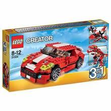 Lego Roaring Power 3 in 1 Dinosaur, Race Car & Sea Plane Russell Lea Canada Bay Area Preview