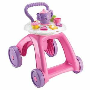 Fisher Price Laugh & Learn Smart Stages Tea Cart Walker-LIKE NEW Hornsby Hornsby Area Preview