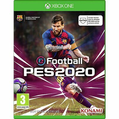 eFootball PES 2020 (Xbox One, 2019)NO DISC, READ DESCRIPTION for sale  Shipping to Nigeria