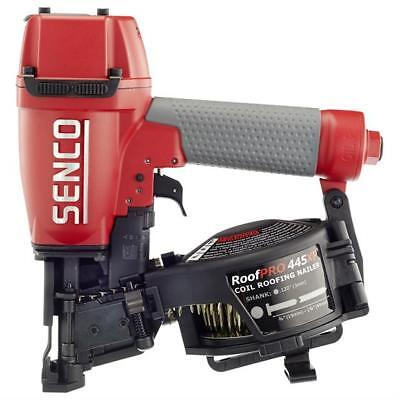 Senco Roofpro Coil Roofing Nailer 445xp Pneumatic 15-degree New