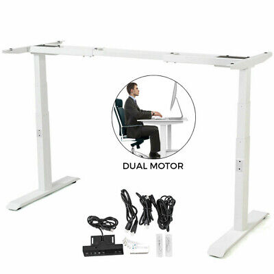 Electric Sit-stand Standing Desk Frame Table Dual Motor Base Sit-stand Lift