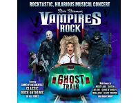 Wolverhampton Grand theatre tickets x2 for VAMPIRES ROCK - GHOST TRAIN