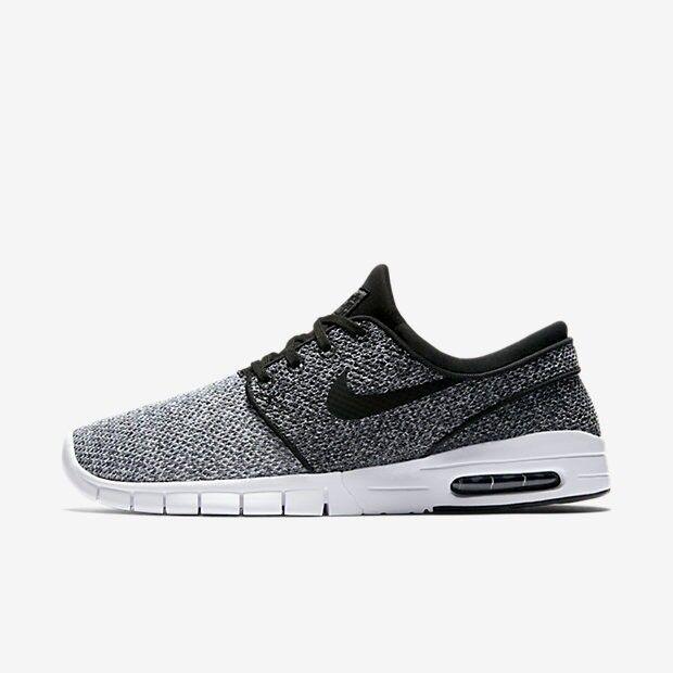 super popular 78b1e 02fdc ... Nike SB Stefan Janoski Max Black Grey - Size 10 - BNIB 100% Authentic  ...