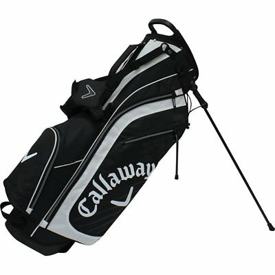 CALLAWAY HIGHLAND BLACK/WHITE STAND GOLF BAG