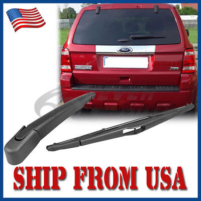 US Black Rear Window Wiper Arm+Blade For Ford Escape/Mercury/ Mariner 2008-12 FM