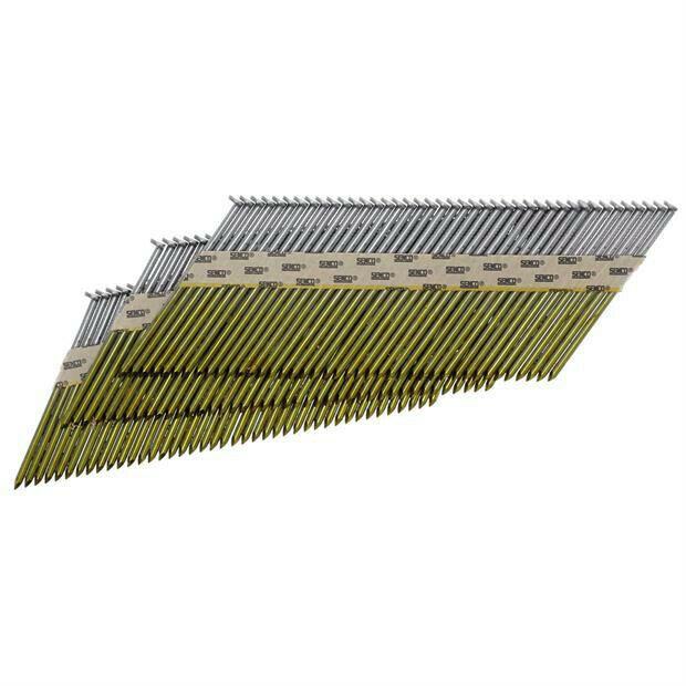 SENCO 3 in. x 0.120 in. Bright Basic Framing Nails (2,500pk) HC27APBX New