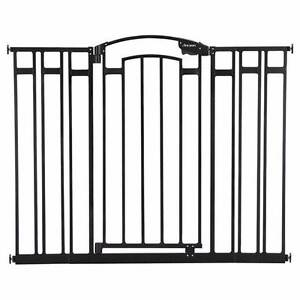 2 x Extra tall + extra wide baby gates, black Hunters Hill Hunters Hill Area Preview