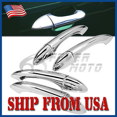 US Fit for 2000-2006 BMW X5 E53 Chrome Side Door Handle Cover Add-on Style FM