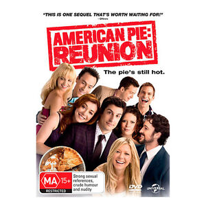 AMERICAN PIE REUNION Jason Biggs, Eugene Levy, Seann William Scott DVD NEW