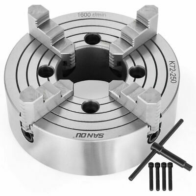 K72 4 Jaw Lathe Chuck Front Grinding Milling Machine Front M